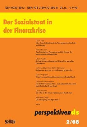 Der Sozialstaat in der Finanzkrise