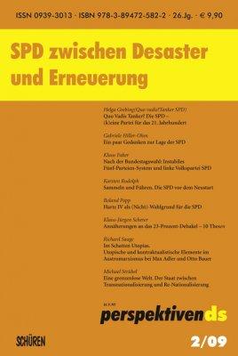 SPD zwischen Desaster und Erneuerung